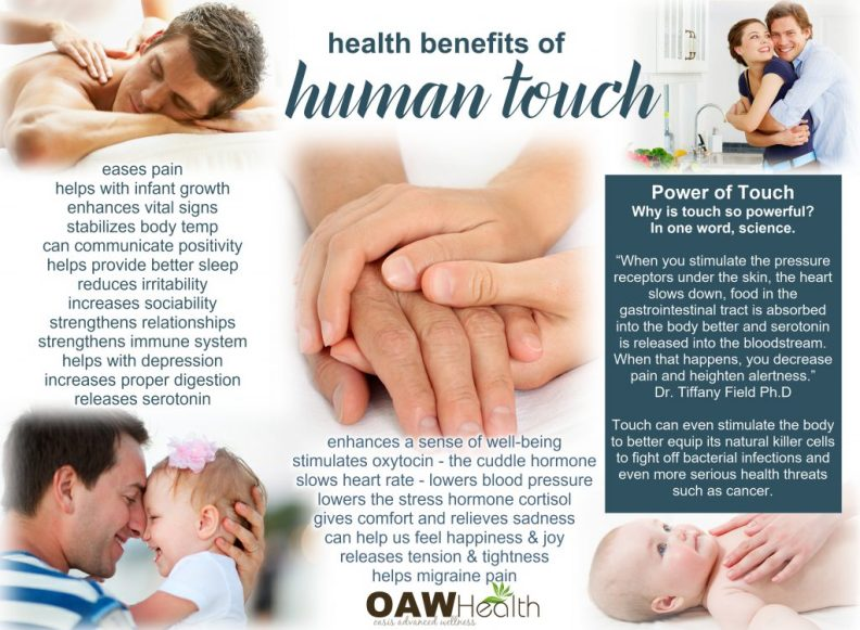 human touch health benefits