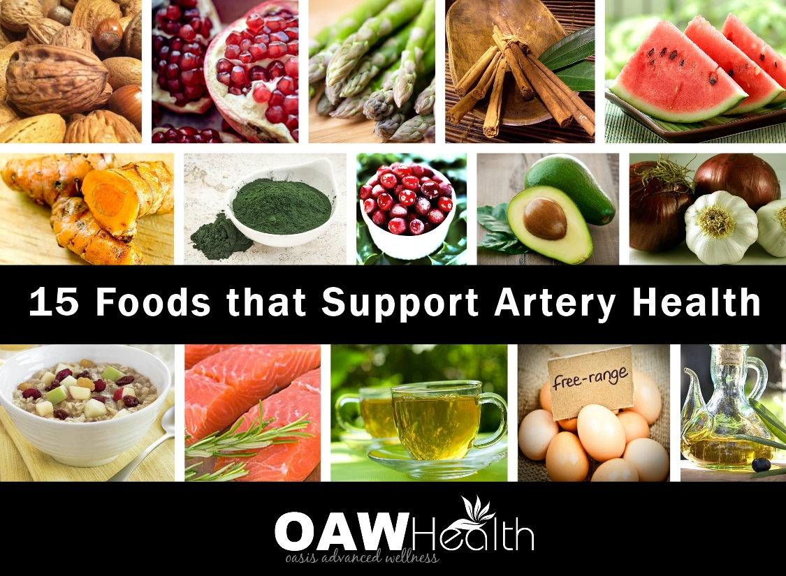 15 Healthy Foods that Support Artery Health
