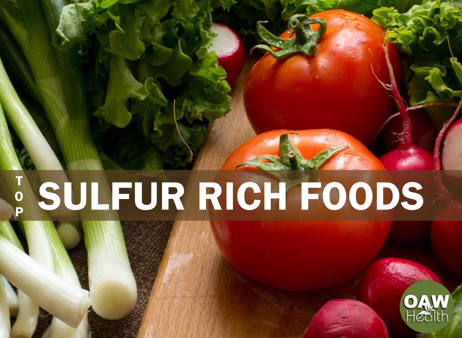 Top Sulfur Rich Foods