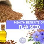 health benefits of flax seed