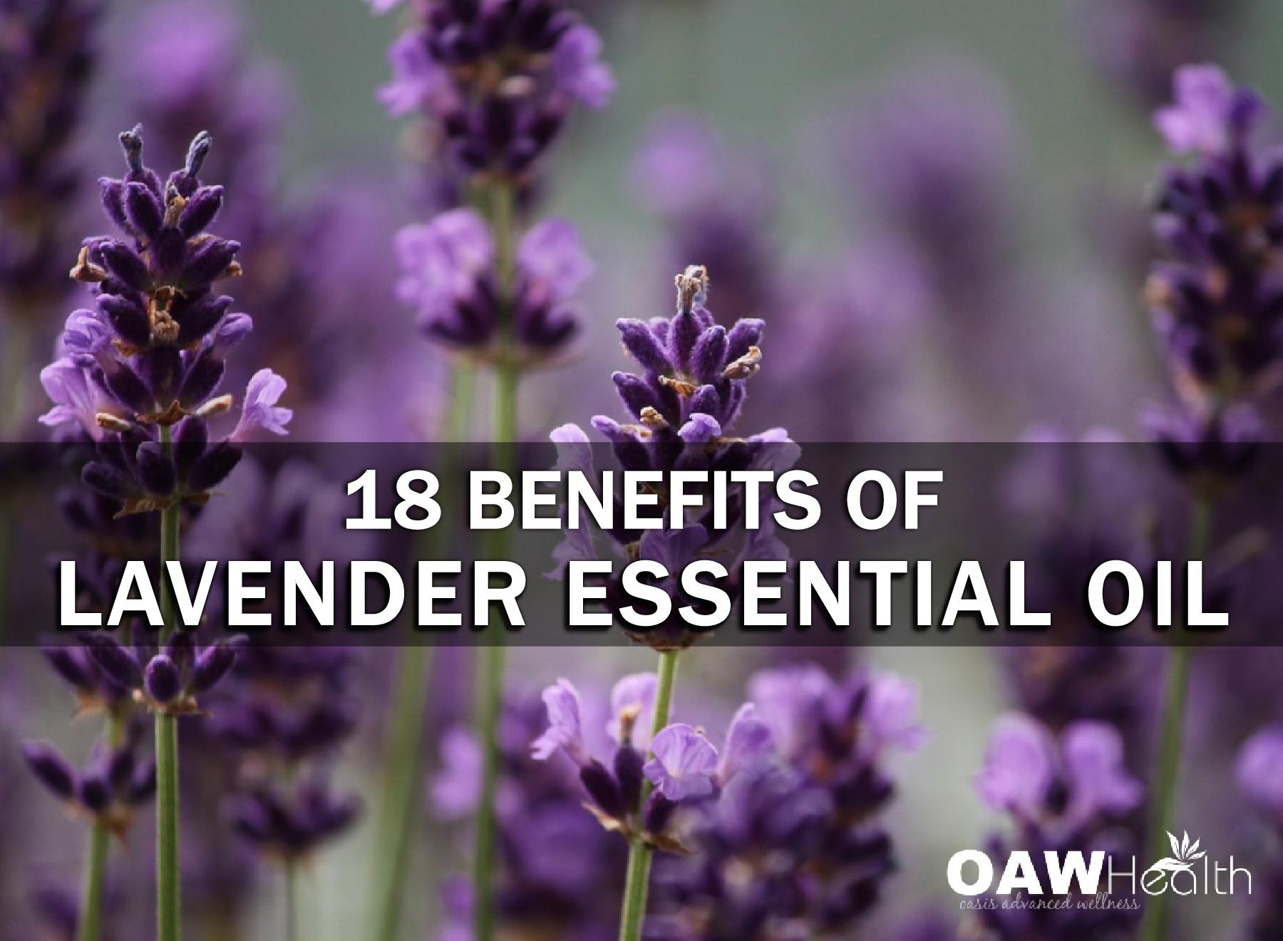 18 Benefits of Lavender Essential Oil