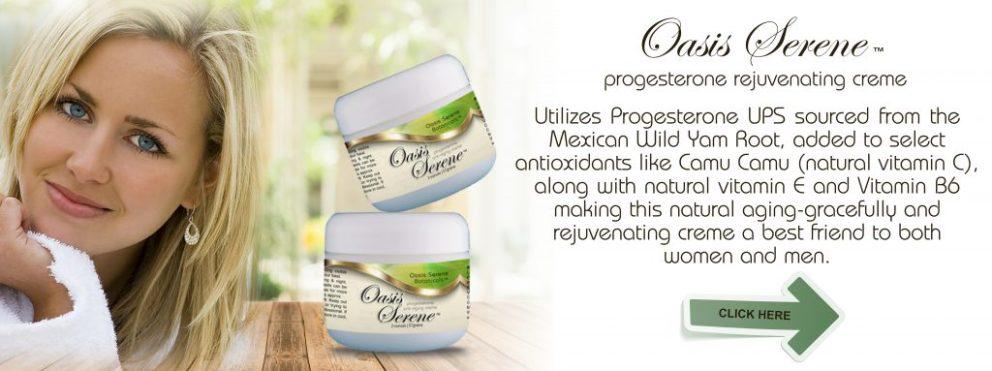 Oasis Serene Progesterone Rejuvenating Creme