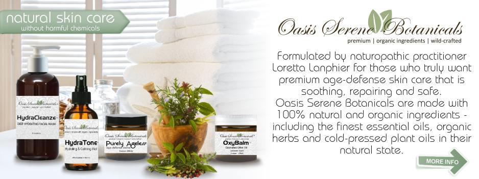 Oasis Serene Botanicals Skin Care