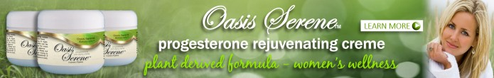 Oasis Serene natural progesterone creme