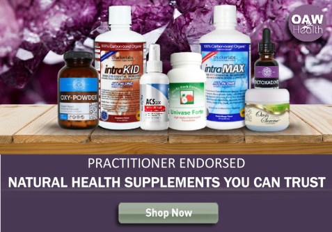 OAW Natural Health Products Banner