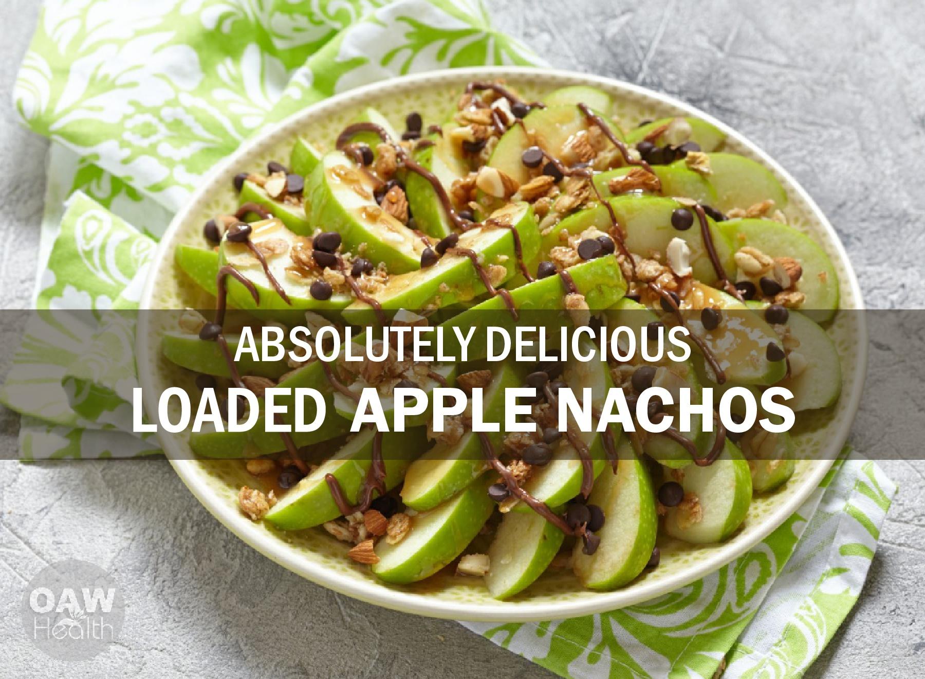 Delicious Loaded Apple Nachos