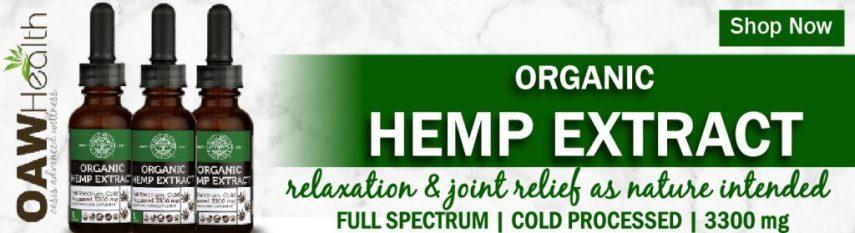 Organic Full-Spectrum Hemp Extract
