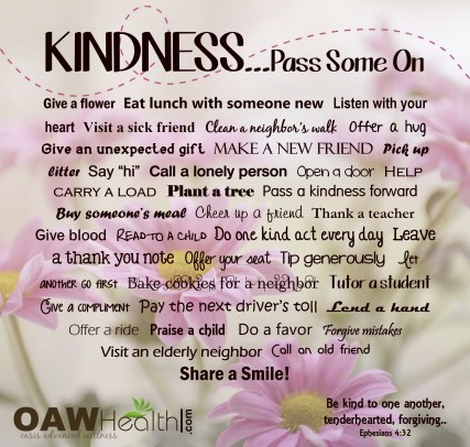 Kindness - Pass It One