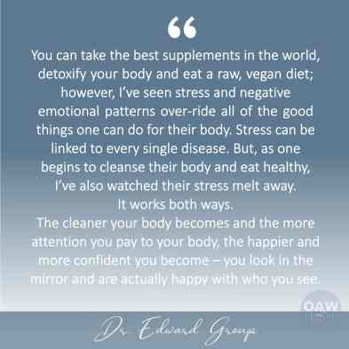 quote - you can take the best supplements - edward group
