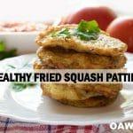 Healthy Fried Squash Patties Recipe