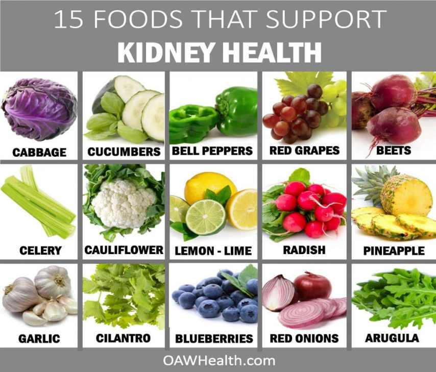 15 Foods that Support Kidney Health