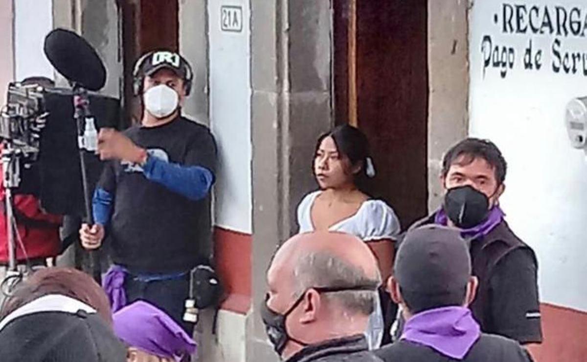 Inicia Yalitza Aparicio rodaje de su segunda película como protagonista en  Tlalpujahua, Michoacán   Oaxaca