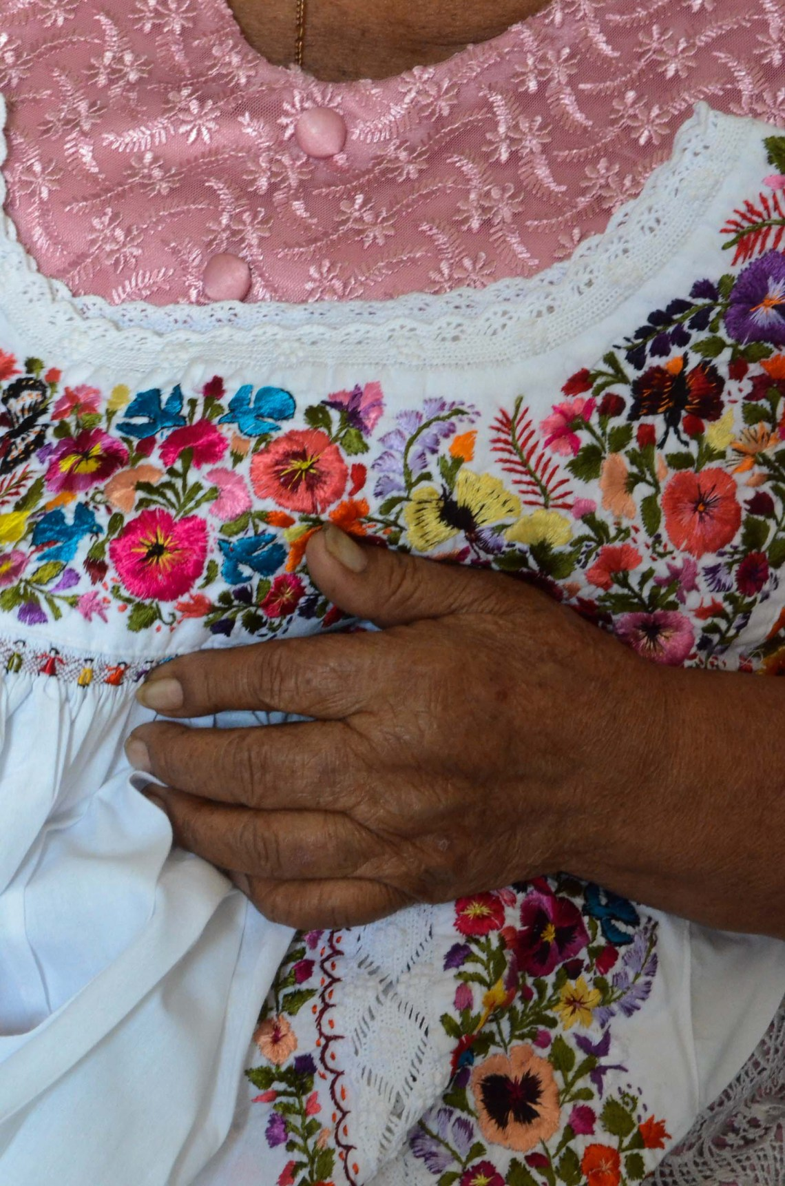 Viejitos PreWed 5 Mexican Blouses For Sale