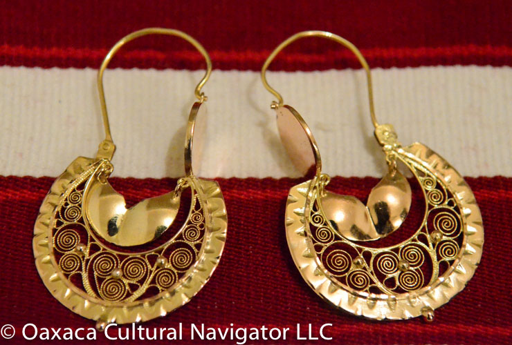 Oaxaca Filigree Gold and Silver Antique Jewelry Pawn Shops and