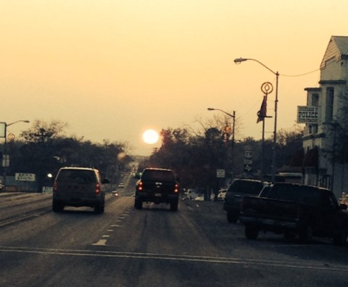 TX_sunset