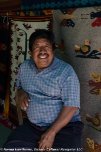 Rug Vendor, Tlacolula Market, Oaxaca, Mexico