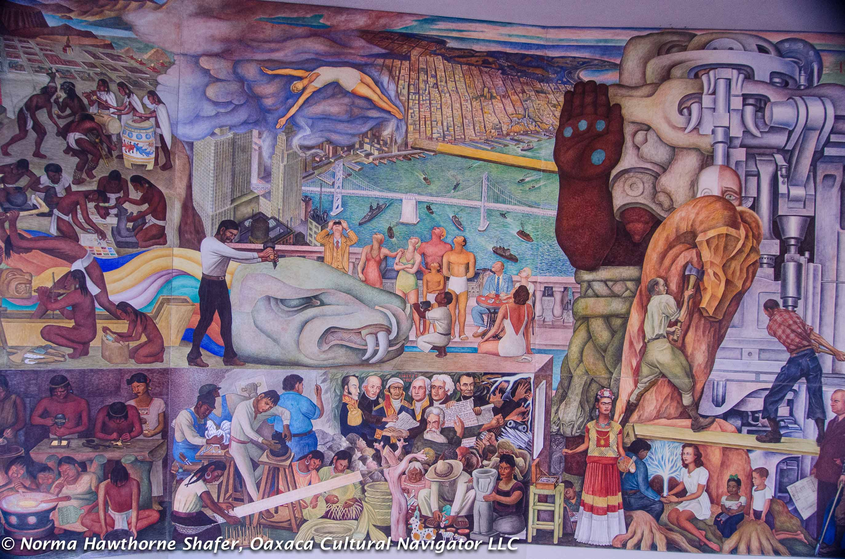 Diego rivera murals in san francisco critical guide for for Diego rivera mural san francisco art institute