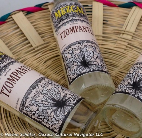 A new artisanal mezcal from Miahuitlan