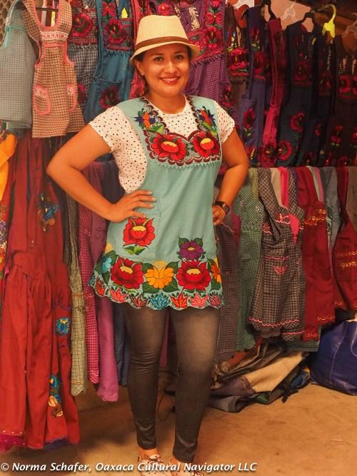 Apron as fashion statement! Who needs a fancy dress?