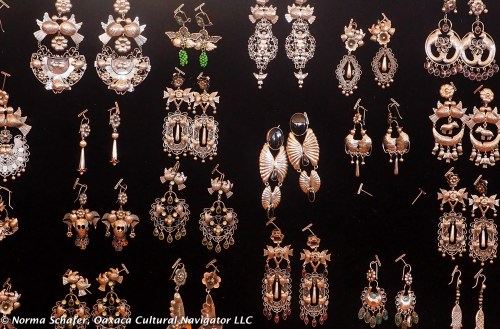 Jewelry from the Belber Jimenez Museum, Oaxaca