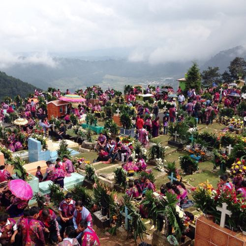 "Day 5, Mexico Colors Photo Challenge. ""Day of the Dead"" celebration in Zinacantán, Chiapas. (In tzotzil language is called ""Sk`in Ch`olelai"")., Ana Paula Fuentes"