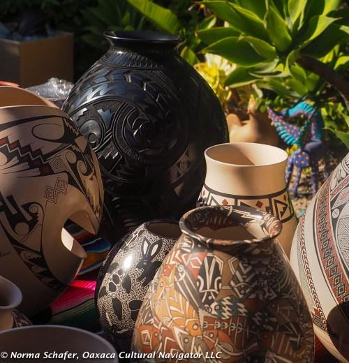 Mata Ortiz pottery from Chihuahua, Mexico