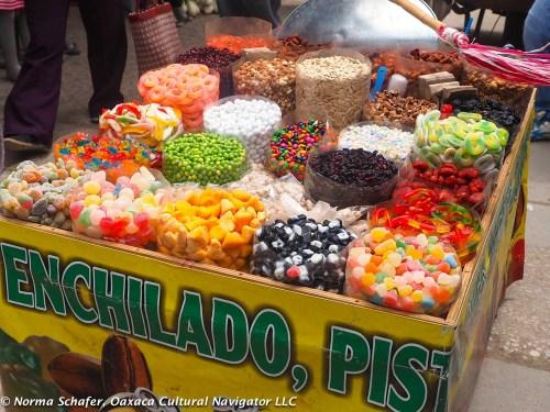 Tlacolula Market Candy Cart
