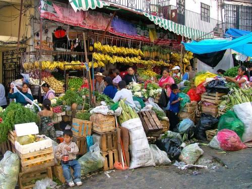Al Stevens, San Pablo Etla Market