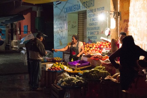 Deby Thompson, Night Market, Xoxocotlan, Oaxaca