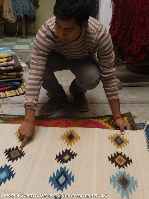 Explaining the symbology of the weaving patterns