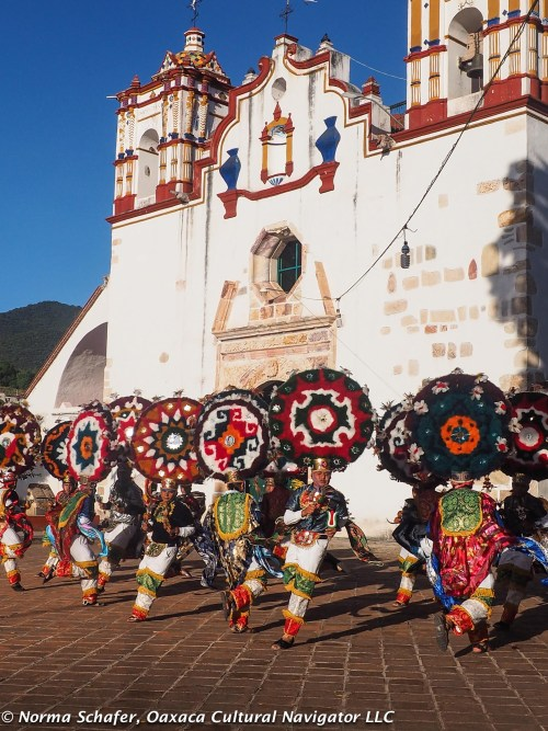 Los Danzantes de la Pluma, Dance of the Feather, Teotitlan del Valle, Oaxaca