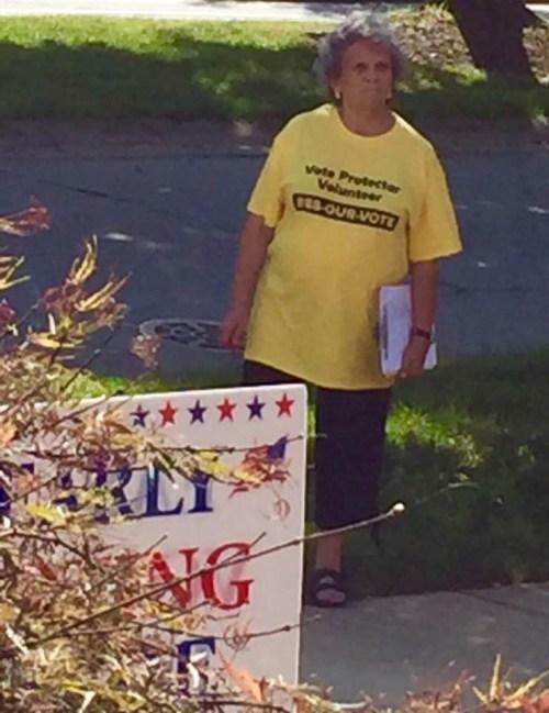 Vote Protector Volunteer. I see this as reassurance.