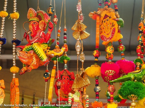 Papier mache toys and mobiles