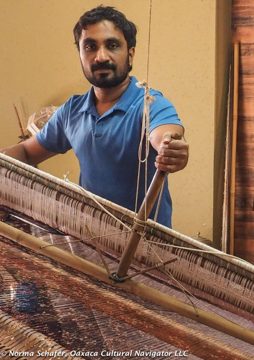 7th generation weaver, Rahul Salvi