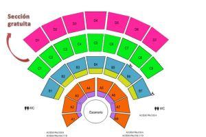 sección gratuita auditorio guelaguetza