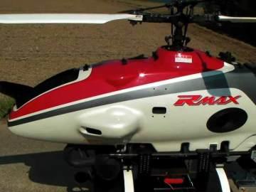 ヤマハ産業用無人ヘリコプターRMAXのボディ