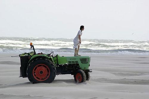 トラクターを見たことのない人にはどのように写るのでしょうか・・・聞いてみたい