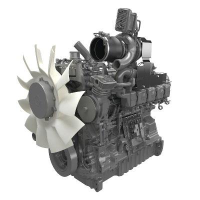 ClaasのDPSエンジンはこんな形・・・違うかぁ・・・