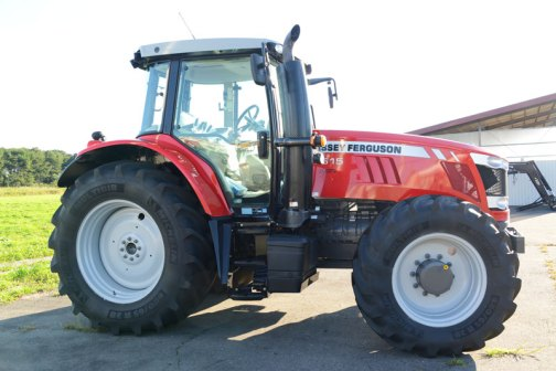 Massey Ferguson MF7615 2013 - 2014   7600 Series  Sisu 6.6L turbocharged air-to-air aftercooled diesel 6-cylinder 24-valve 140 hp