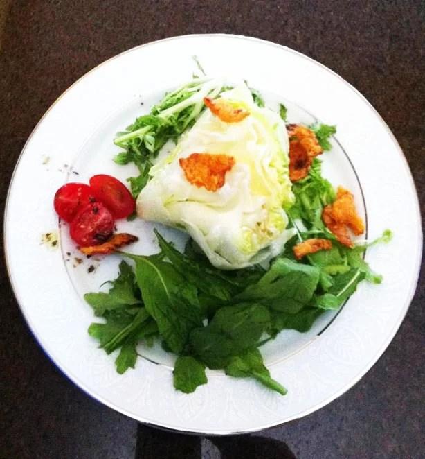 salada nozes queijo