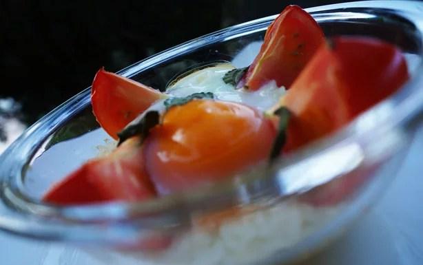 Ovos com tomates 1