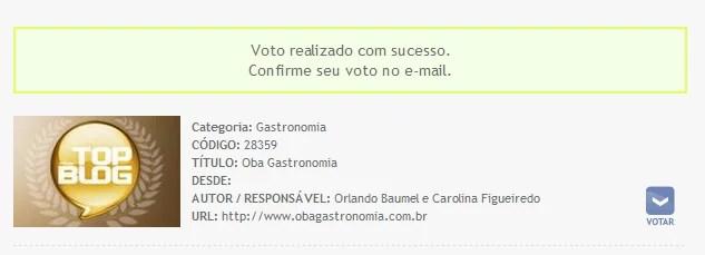 voto email
