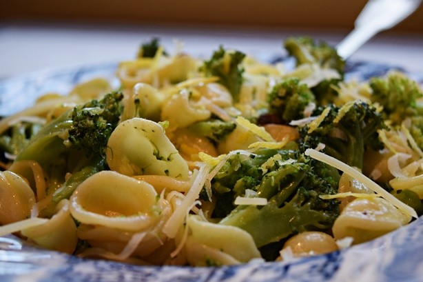 Orechiette com brocolis 2