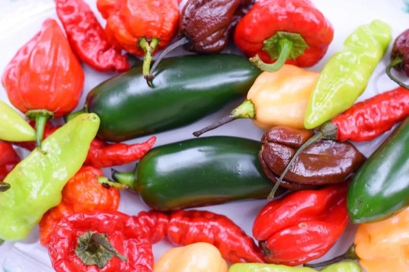 Mix de pimentas