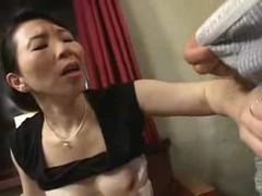 四十路素人熟女が超淫乱だったおばさん動画