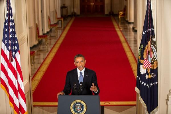 President Obama Addresses the Nation on Syria | whitehouse.gov