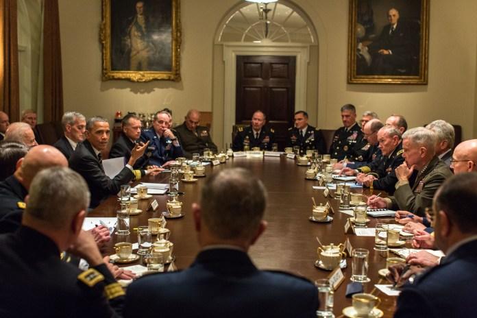The President's Meeting with Senior Military Leaders | whitehouse.gov