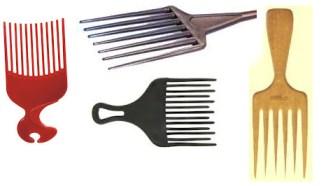 pentes para cabelo afro