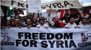 Solidariedade com a revolução da Síria