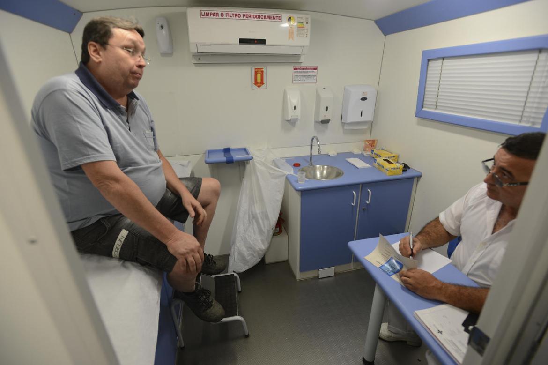 Ônibus do Homem atende para prevenção do câncer de próstata